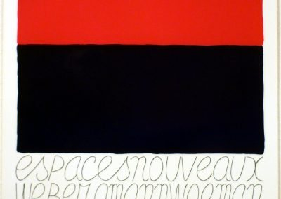 Espaces nouveaux, Weber, Amann, Wolman