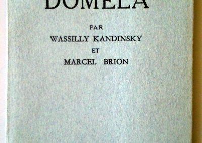 Domela par Wassily Kandinsky & Marcel Brion
