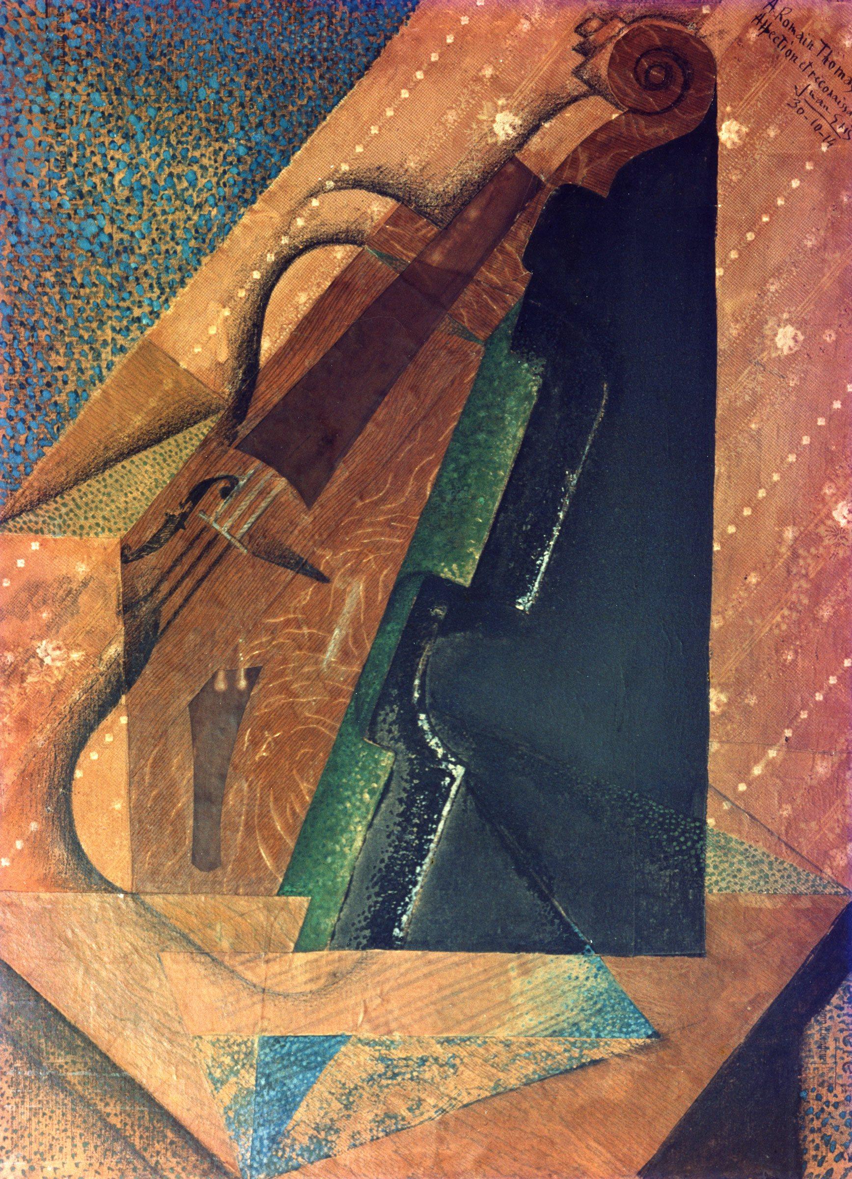 Gris Juan,Le violon,1914