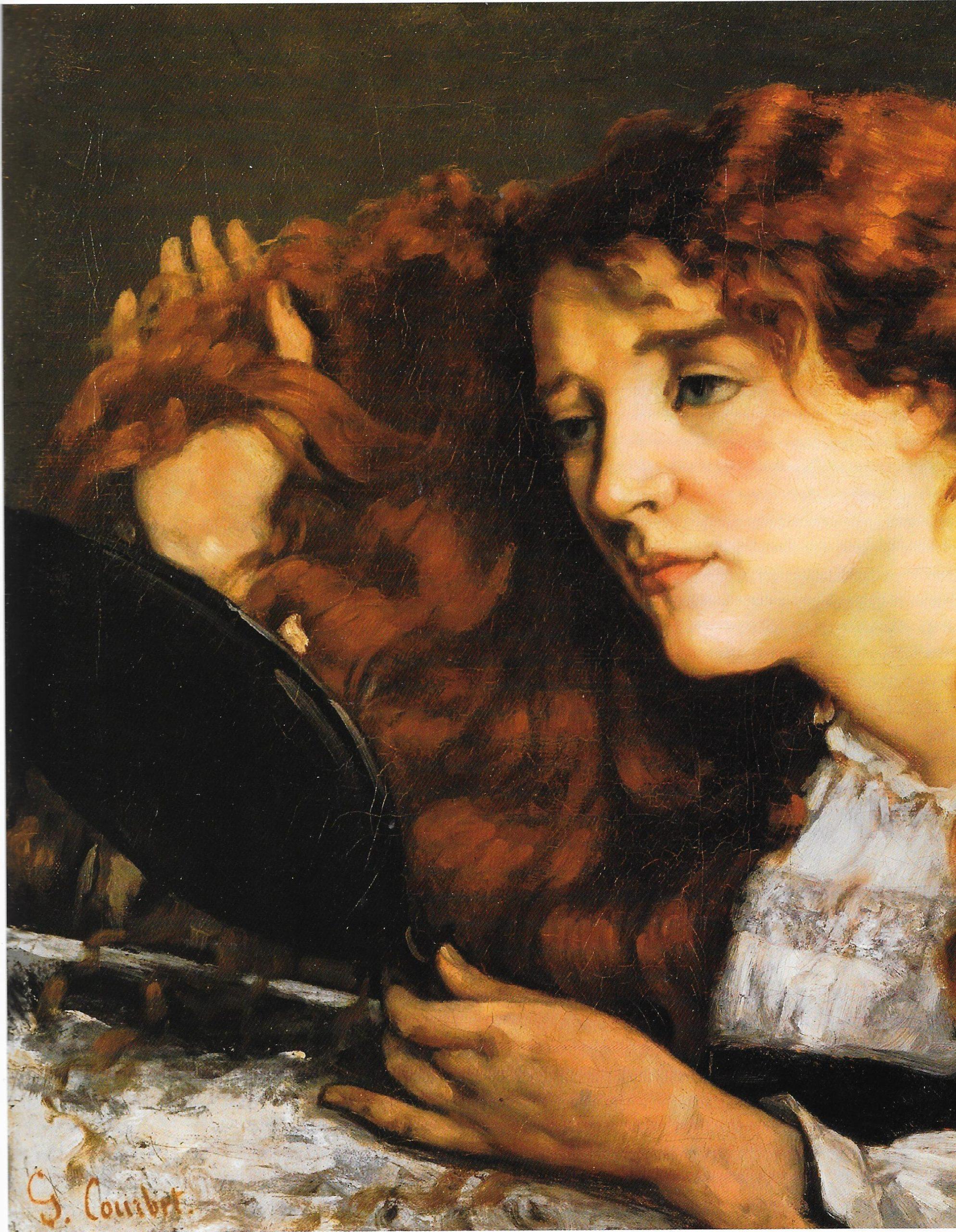 Gustave Courbet,Jo la belle Irlandaise,1865 (détails)