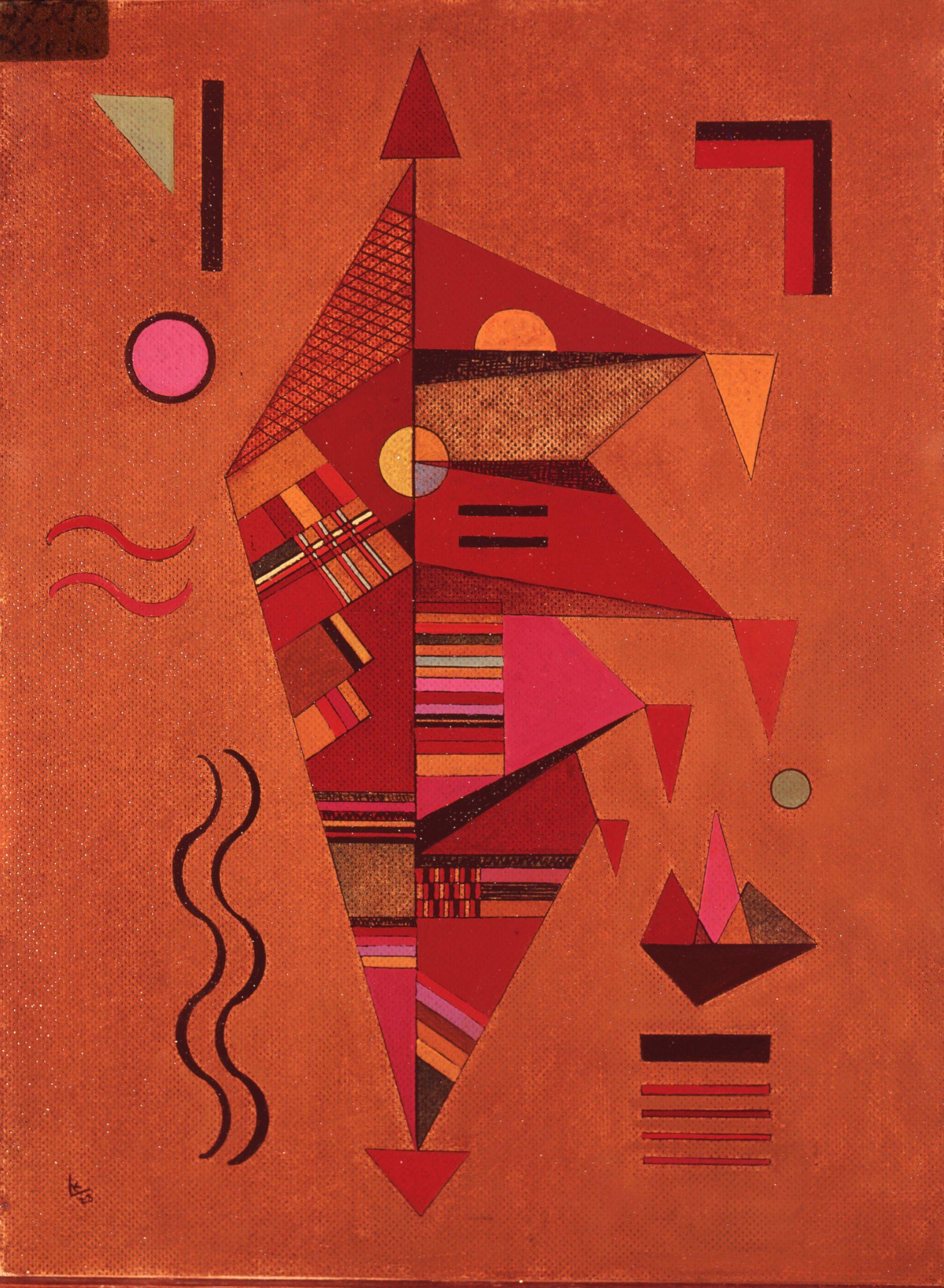 Kandinsky Wassily,Figure rouge,1928
