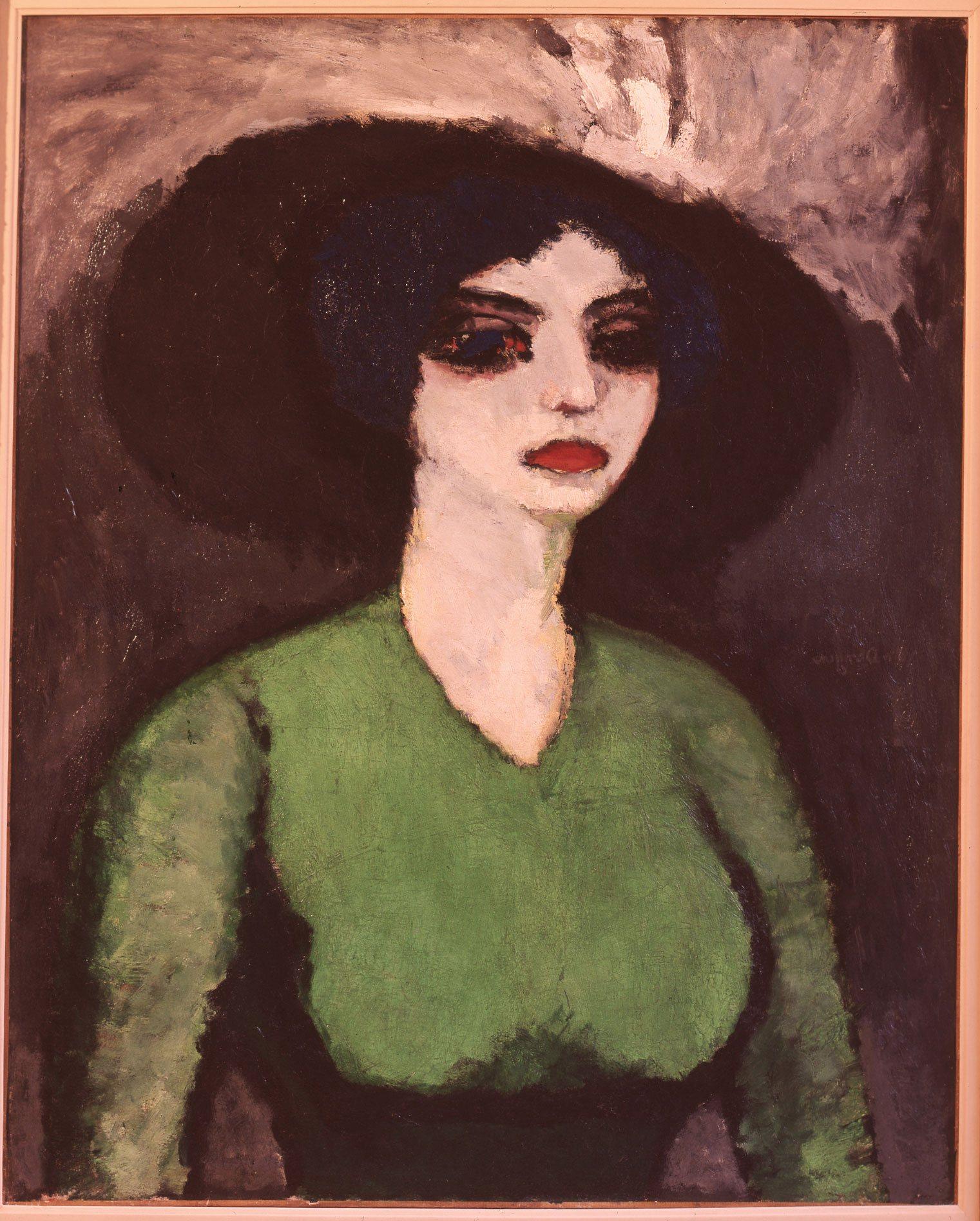 Van Dongen Kees,La blouse verte,1906